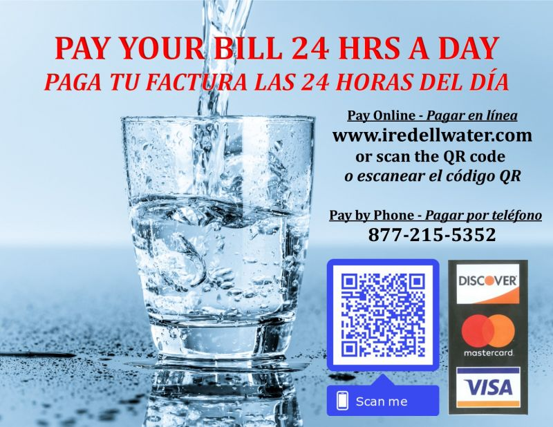 Bill Payment | Iredell Water Corporation